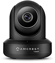 The Amcrest ProHD 1080p Wi-Fi video camera helps you stay in touch with what you love anytime, anywhere. With its quick mobile setup process, you will have secure access to your camera's video stream in no time. Stream live and playback recor...