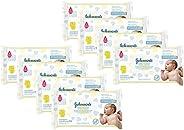 Lenços Umedecidos Recém Nascido Johnsons Baby com 768 Unidades