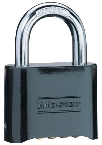 Master Lock Set Your Own Combination Die Cast