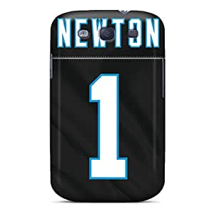 Fashion Protective Carolina Panthers Case Cover For Galaxy S3
