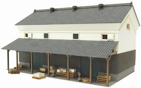 さんけい 1/80 情景シリーズ 倉庫-1 MK05-46 ペーパークラフト