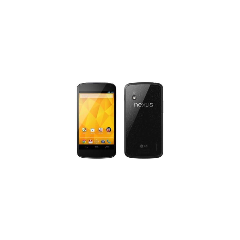 LG E960 Google Nexus 4 Unlocked GSM Phone, 16Gb, International Version/Warranty Black Cell Phones & Accessories