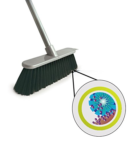 Long Handled Indoor Sweeping Brush Soft Sweeping Broom Laminate Floor Sweeper