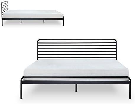 Zinus Tom Metal Platform Bed Frame / Mattress Foundation / No Box Spring Needed / Wood Slat Support / Design Award Winner, Queen 41 s2ITQuyL