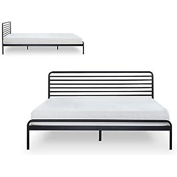 Amazon Com Zinus Tom Metal Platform Bed Frame Mattress