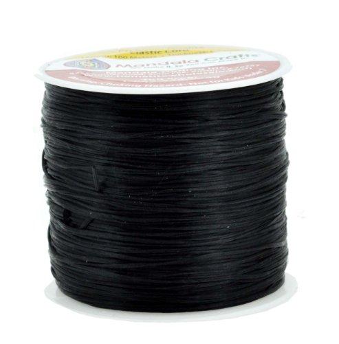 Mandala Crafts® Stretchy Elastic Cord, Beading Bracelet String, 100 Meters, 0.7mm - 100m Bracelet