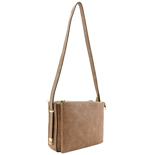 Three Camel Compartment Zipper Bag Top Shoulder TpfqwTC