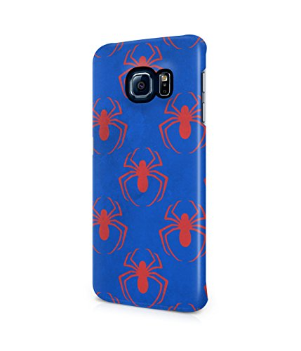 Spiderman Spider Pattern Plastic Snap-On Case Cover Shell For Samsung Galaxy S6 EDGE PLUS