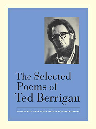 The Selected Poems of Ted Berrigan: Amazon.es: Berrigan, Ted ...