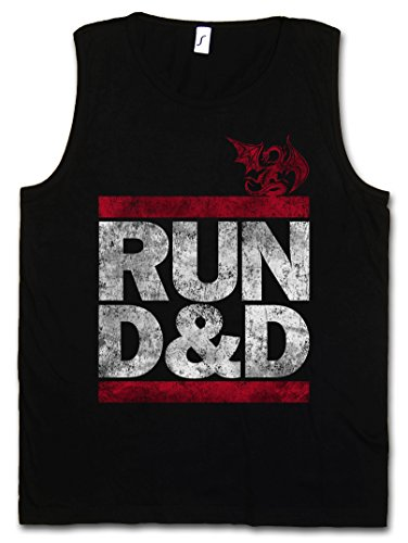 Urban Backwoods Run D&D Men Tank TOP Vest Gym Shirt