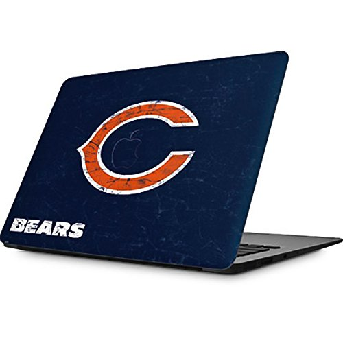 Skinit Chicago Bears Distressed MacBook Air 13.3 (2010-2017) Skin - Officially Licensed NFL Laptop Decal - Ultra Thin, Lightweight Vinyl Decal Protection