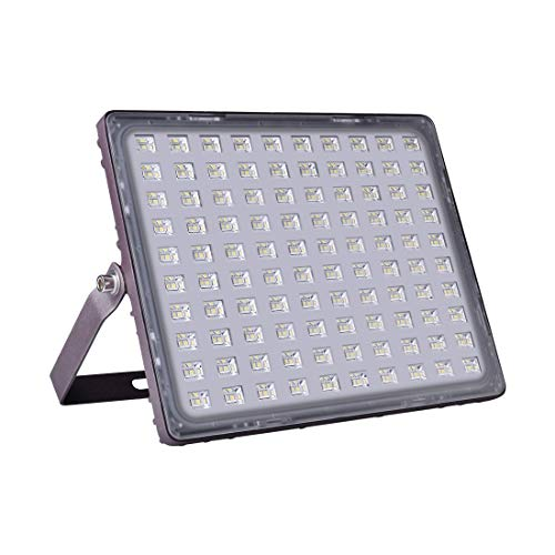 Viugreum LED Flood Light, 150W(750W Halogen Equiv), 15000LM 3000K Warm White, IP66 Waterproof Outdoor Work Lights with Special Glittery Backshell, Security Floodlights for Garage, Garden, Patio