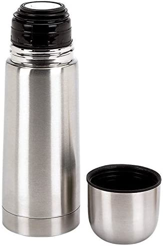 Vacuum Stainless Steel Coffee Bottle Travel Thermos 12 oz