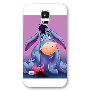 Customized White Frosted Disney Winnie the Pooh Eeyore Samsung Galaxy S5 Case