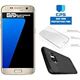 Samsung Galaxy S7 G930T GSM Unlocked w/ED Bundle - $99 Value (Bundle Includes: ED Case + Screen Protector + 1 Year CPS Limited Warranty) (Gold, 32GB) (Certified Refurbished)