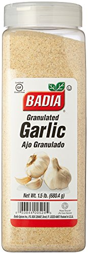 Badia Garlic Granulated 1.5 lbs Pack of 2 ()