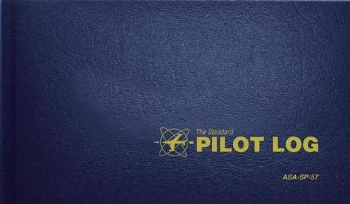 The Standard Pilot Log (Navy Blue): ASA-SP-57 (Standard Pilot Logbooks) cover