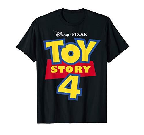 Disney Pixar Toy Story 4 Movie Logo  T-Shirt
