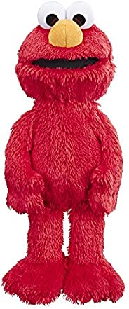 Sesame Street Love to Hug Elmo Talking, Singing, Hugging 14-inch Plush Toy for Toddlers, Kids 18 Months and Up