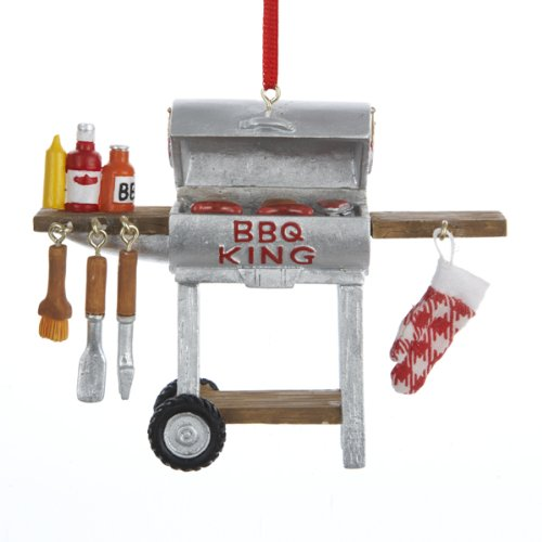 BBQ King Ornament
