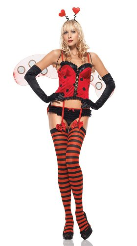 Sweetheart Bug Costume - X-Small - Dress Size 0-2