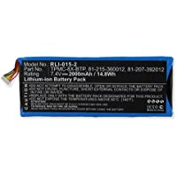 Crestron TPMC-8X Remote Control Battery RLI-015-2 Li-Ion 7.4V (2000 mAh) Battery - Replacement For Crestron TPMC-8X-BTP