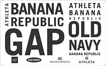$50 Gap Gift Card (Redeem at Gap, Old Navy, Banana Republic, or Athleta)