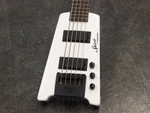 Free Shipping Used Spirit By Steinberger Xt-25 Wh Electric Bass Guitar (Bass Steinberger Guitar)