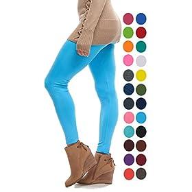 - 41 s74CrR 2BL - LMB | Seamless Full Length Leggings | Variety Colors | One Size