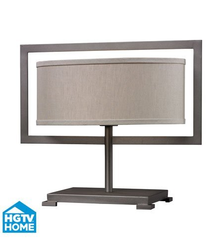 Table Lamps 1 Light With Graphite Finish Steel Material E26 Bulb Type 15 inch 100 Watts by World of Lights (Image #1)