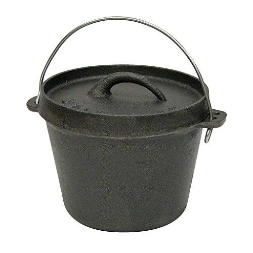 1 quart cast iron pot lodge - 4