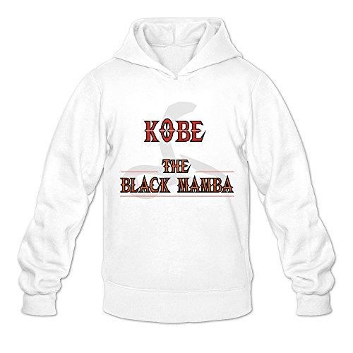 Sit Rest Exhibition 24 Lakers Kobe Bryant Hoodies Man's White