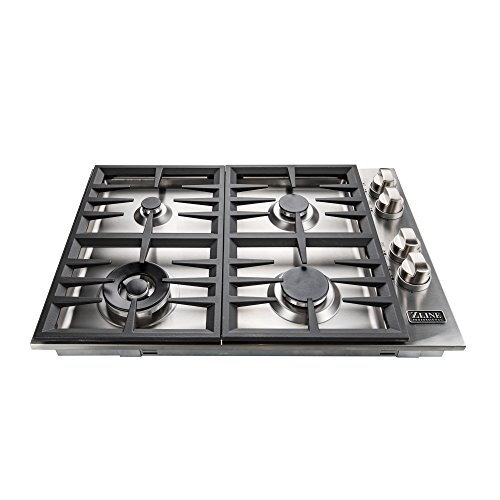 ZLINE 30 in. Dropin Cooktop with 4 Gas Burners RC30