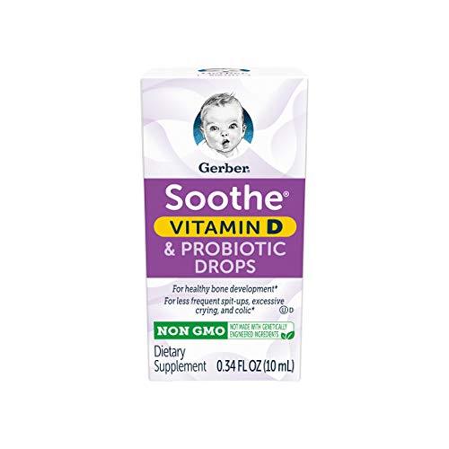 Gerber Soothe Baby Probiotic Drops, 0.34 fl oz reviews