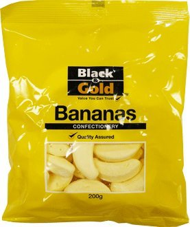 Black Gold Confectionary Bananas Bag product image