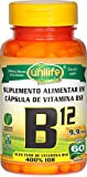 Vitamina B12 Cianocobalamina Unilife 60 Capsulas