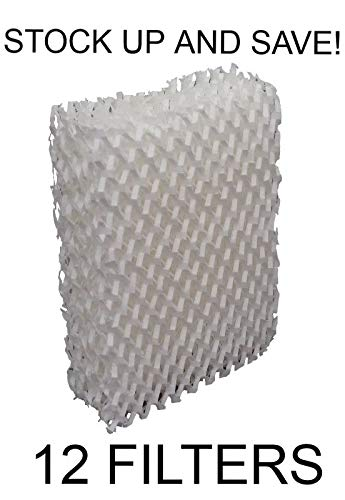 Reliаble Durаcrаft AC-813 Compatible Humidifer Wick Filter Replacement RP3001 12-Pack RAM ()