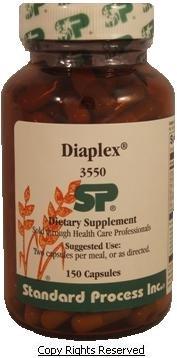 Standard Process - Diaplex - 150 Capsules