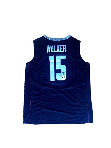 08fa4ad47bc3 Check out Kemba Walker Connecticut Huskies Away Blue Uconn Autographed  Jersey - JSA Authenticated. at Amazon s Sports Collectibles Store