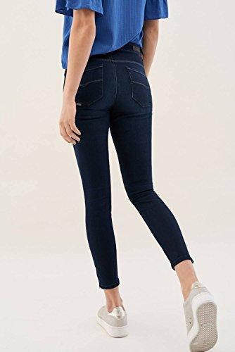 Azzuro Con Cerniere Salsa Glamour Secret Jeans Capri nqxAUwYUO
