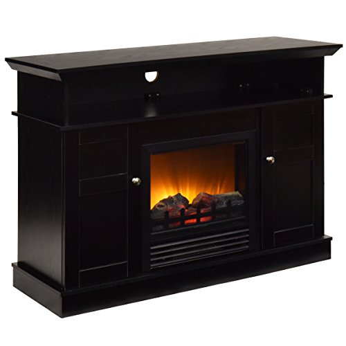 Gas 30 Inch Log Heater - Electric Fireplace 42