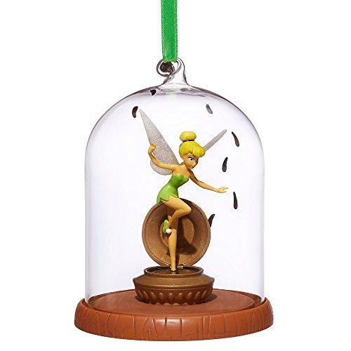 - Disney Tinker Bell Glass Dome Sketchbook Ornament - Peter Pan