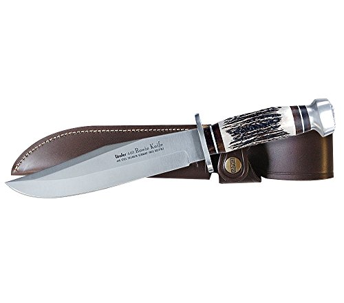 Linder Original 440A Stainless Bowie Knife, 13in.