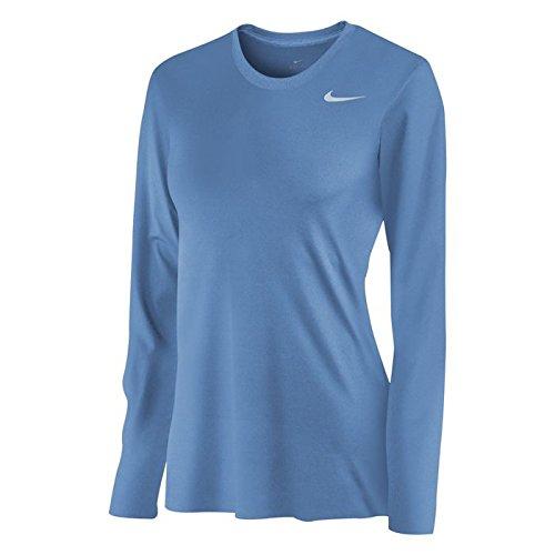 Nike camisa de manga larga Legend para las mujeres Azul (Sky Blue)