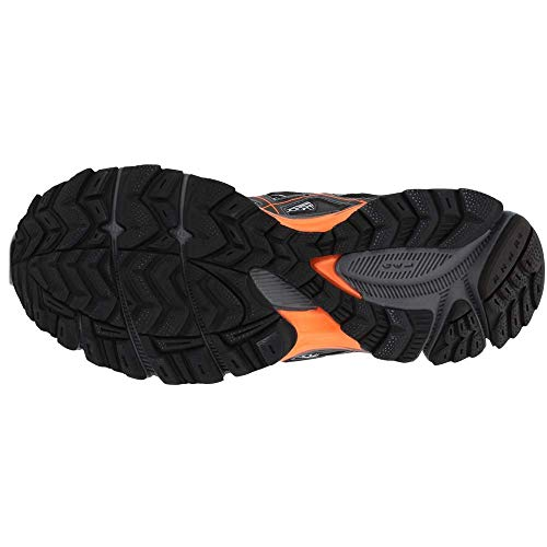 ASICS Mens Gel-Kahana 8 Running Shoe Black/Hot Orange/Carbon 7 Medium US by ASICS (Image #6)