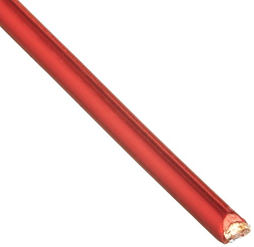 Remington Industries 18SNSP Magnet Wire, Enameled Copper Wire, 18 AWG, 1.0 lb, 201' Length, 0.0415'' Diameter, Red by Remington Industries