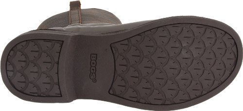 Leather Women's Brown Bogs Mason Rain Boot EBxTdqCw