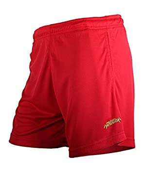 Padel Session Pantalon Corto Tecnico Rojo: Amazon.es ...
