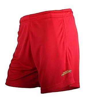 Padel Session Pantalon Corto Tecnico Rojo: Amazon.es: Deportes y ...