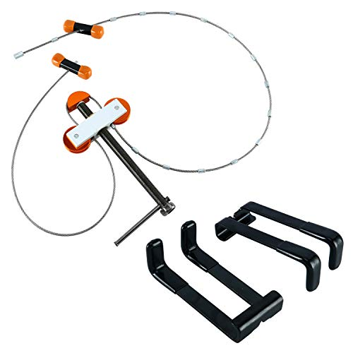 YAETEK 1 Set Compound Bow Press and Quad Limb L Brackets Package Bundle Tuning Hunting Shooting Outdoor